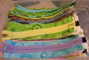 strips with zippers