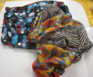Figure 8 scarves
