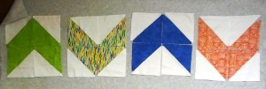 half square triangle arrows