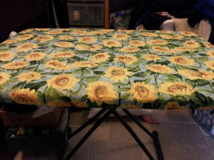 new ironing table