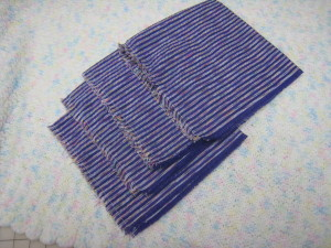pulled thread napkins Starfishalley