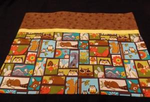 Chipmunk pillowcase