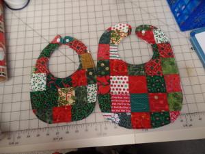 patchwork bibs