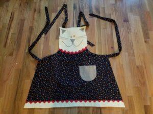 Katie's cat apron