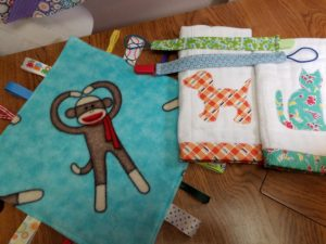 tag and pacifier clips