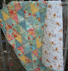 quilt fron and back