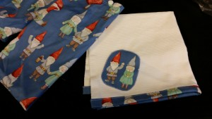 Gnome lunch bag