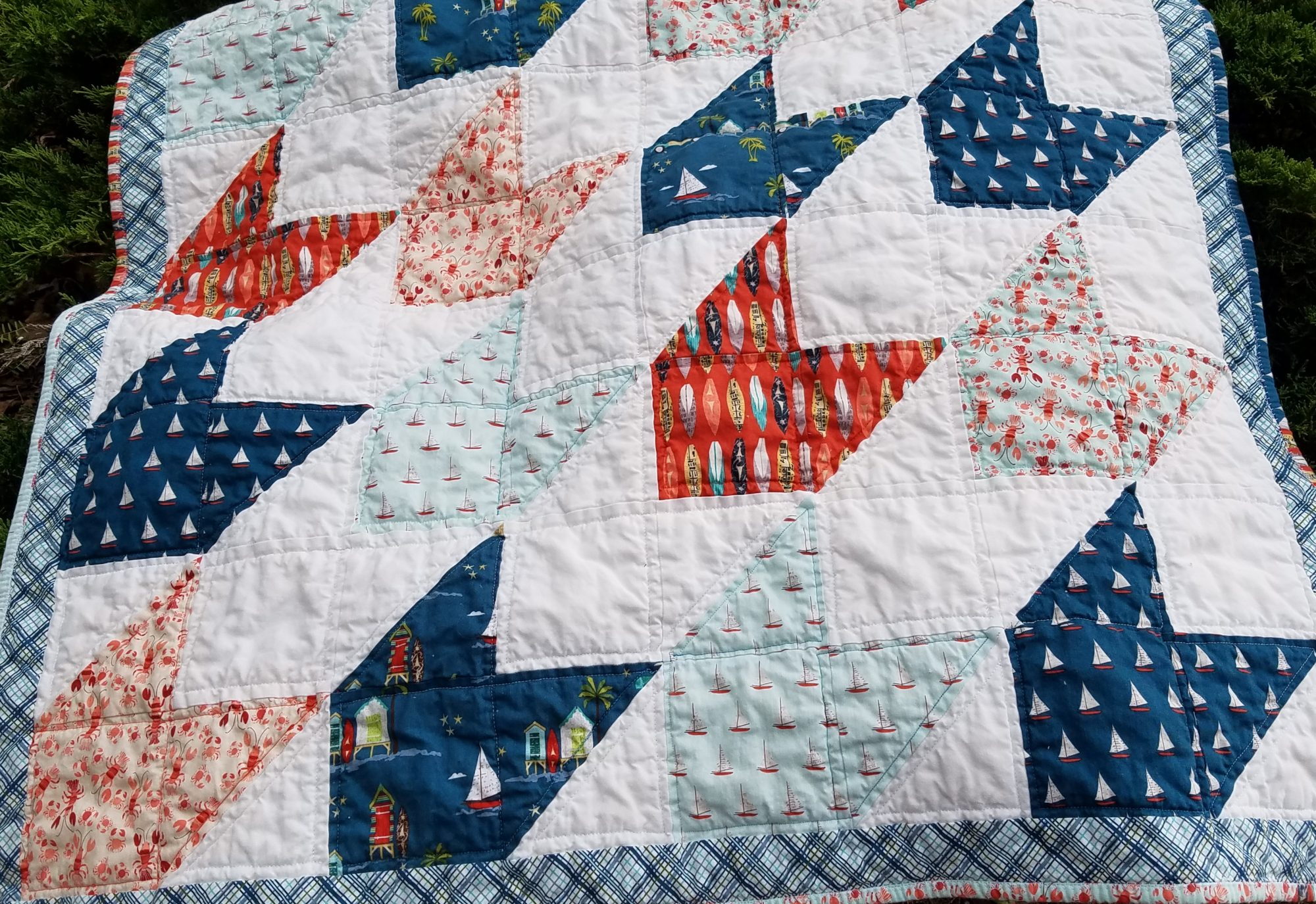 Offshore Baby quilt